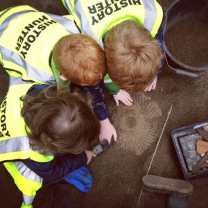 archaeology for kids summer camps