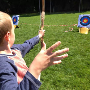 archery archaeology summer camps