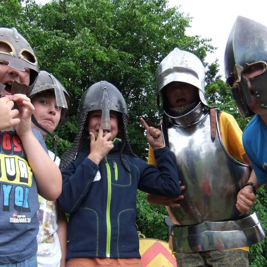 summer camp irish archaeology
