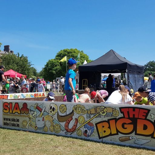 The Big Dig corporate events festivals